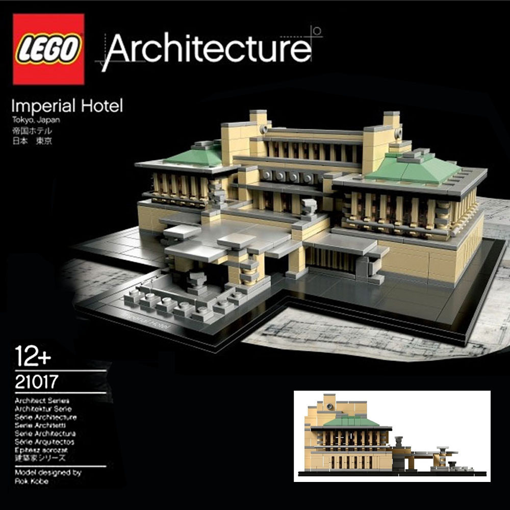 frank lloyd wright buildings in legos avery library blog