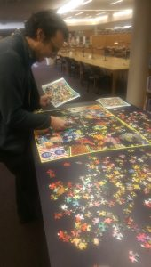 Retro jigsaw puzzle