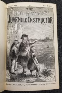 Title page of New Series Volume 7. -- The Church Missionary Juvenile Instructor, 1871.