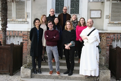 Participants on the last day of the workshop. Photograph by staff at the Fonds ancien et Archives de Provins (2019)