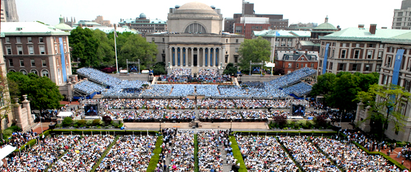 Commencement of the 253rd Academic Year Credit: Eileen Barroso / Columbia University Contact: eb6@columbia.edu