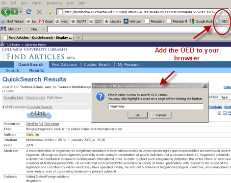 Add the Oxford English Dictionary to Your Browser | Butler