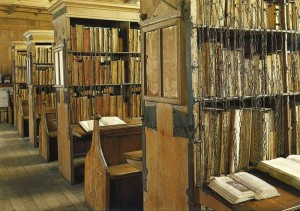Chained library, Hereford Cathedral