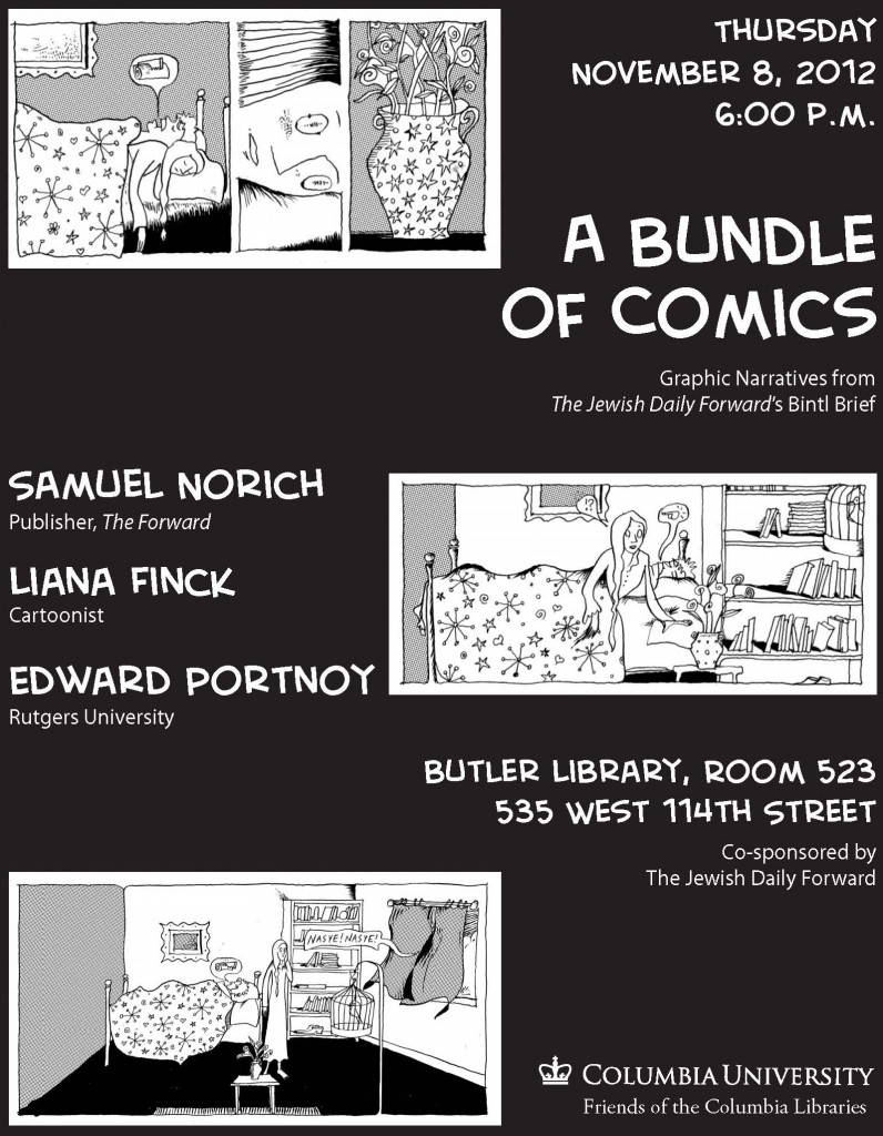 A Bundle of Comics at Columbia University poster