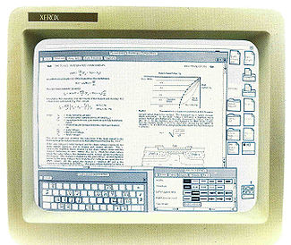 From Wikipedia: Xerox Star workstation (1981) introduced the first GUI operating system