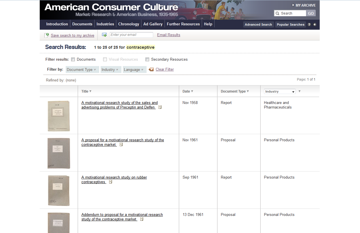 American Consumer Culture