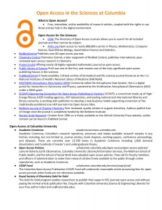 OA Week Handout_Sciences_2015-1