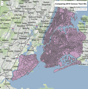 Map of 2010 Census Tracts