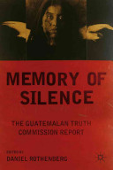 Cover of Memory of Silence b Daniel Rothenberg