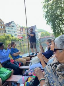 Boat ride in Tübingen