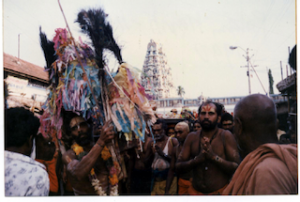 Kavadi dancers, Palani, India