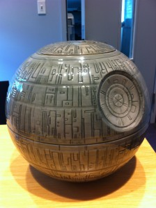 Journalism Library Death Star Cookie Jar