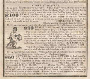 News Clipping: A Peep at Slavery