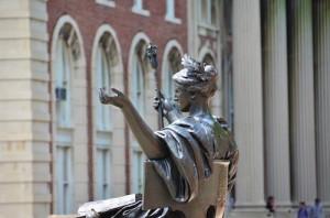 Public Outdoor Sculpture at Columbia