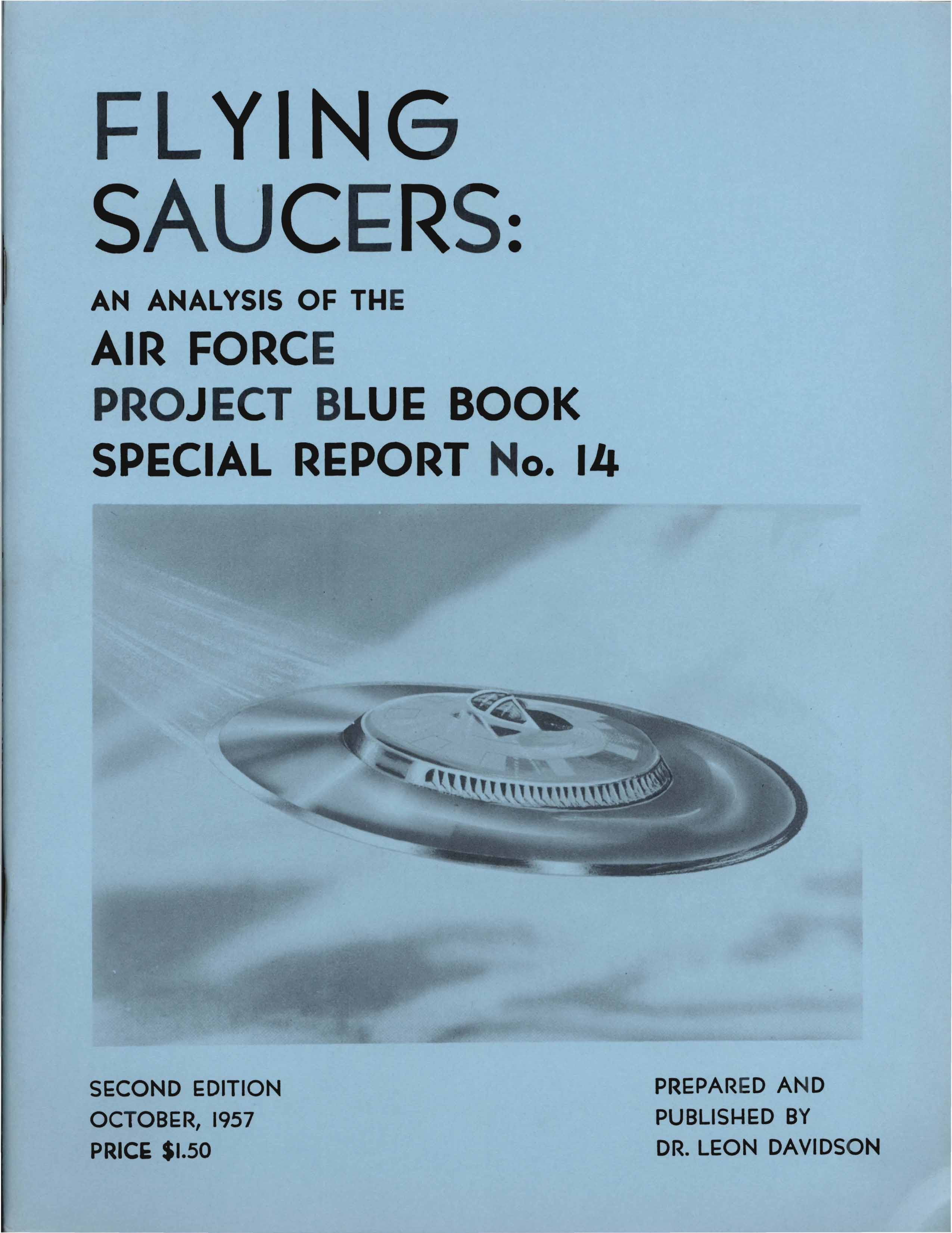 project blue book special report 14 Project blue book special report no 14 - ufo casebook.
