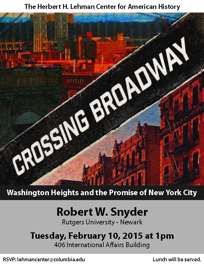 Lehman Center - Snyder Crossing Broadway