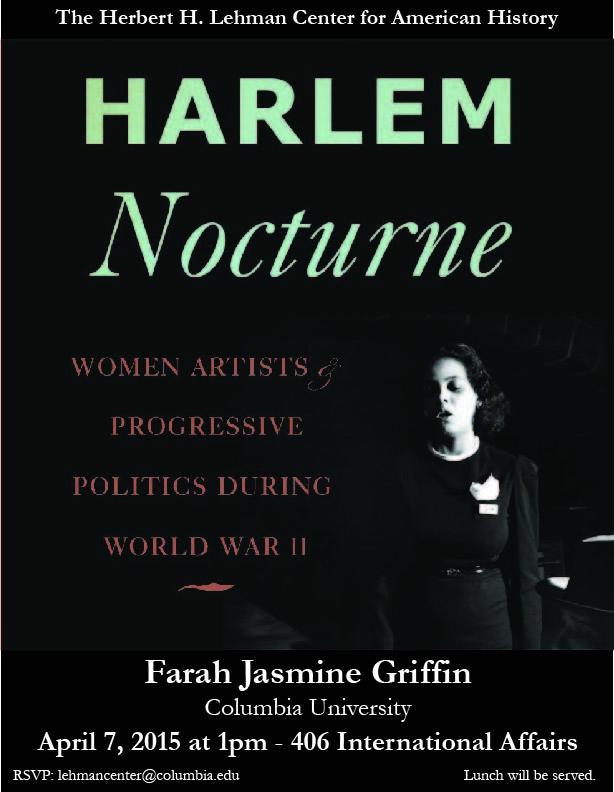 Lehman Center - Griffin Harlem Nocturne
