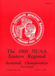 NCAA Eastern Regional Program 1968