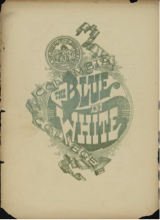 The Blue and White cover