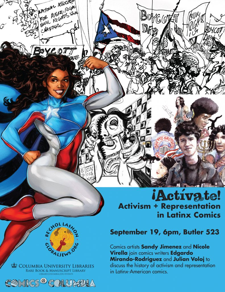 Activate-panel flyer