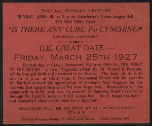 Anti-Lynching Pamphlet, 1927