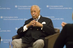 Mayor Dinkins at 2015 event