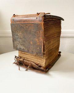 View of the Persinger Scrapbook