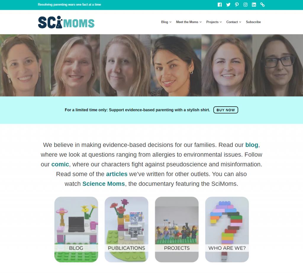 SciMoms-Vaccination-WebArchive