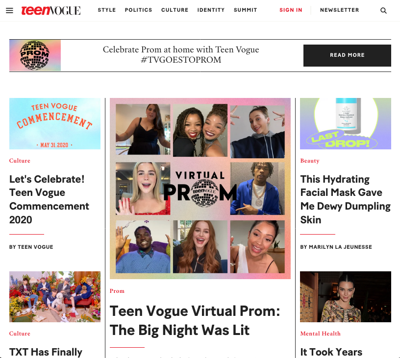 U.S. Women's and Girls' Magazines Web Archive